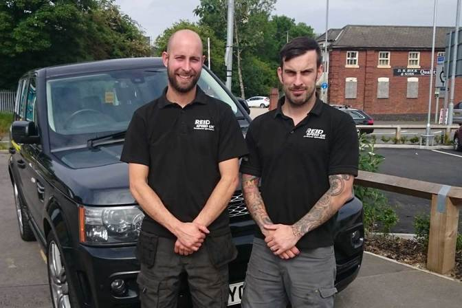 Andy and Brad - Reid Speed UK Land Rover Specialists Hinckley and Burbage