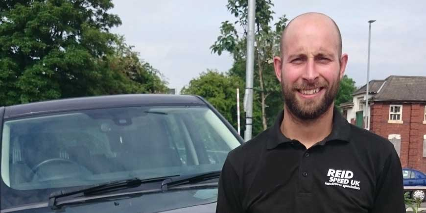 Brad Matheson - Reid Speed Land Rover specialists Hinckley